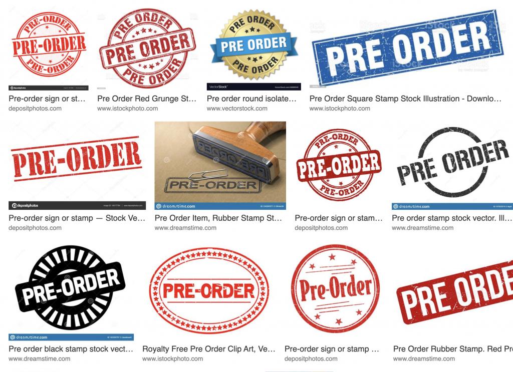 Pre-order